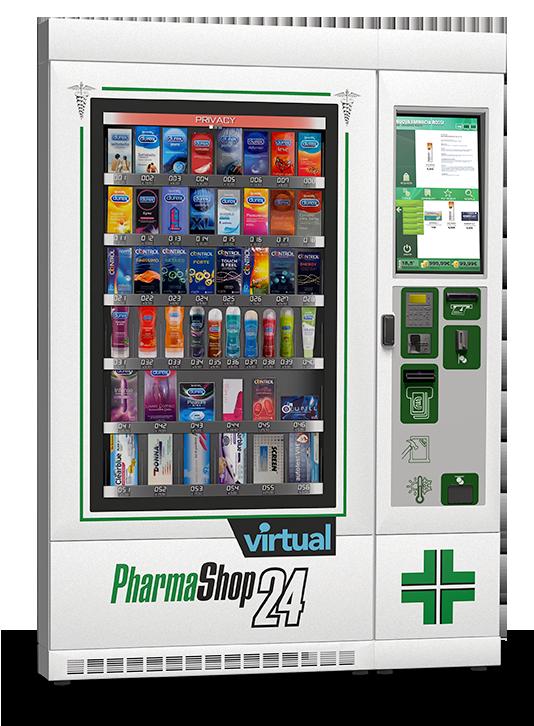 Distributori automatici per farmacie pharmashop24 for Area clienti 3 servizi in abbonamento